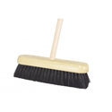 Picture of Broom Head & Handle 450mm with Traditional Horse Hair Bristles-CLEA371581- (EA)