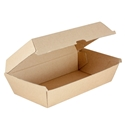 Picture of Enviro Large SnackBox Supa Flute Brown Kraft - 205 x 107 x 77mm-BIOD080205- (CTN-200)