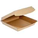 Picture of Enviro Pizza Box Supa Flute Brown Kraft - 175 x 175 x 47mm-BIOD080218- (CTN-250)