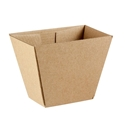 Picture of Enviro Supa Flute Chip Box/Cup 115 x 70 x 90mm-BIOD080800- (CTN-500)