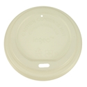 Picture of  Biodegradable Coffee Cup Lid Suits 8/12/16oz Envirochoice Single & Double Wall & Gallery Series Cup-BIOD076290- (CTN-1000)