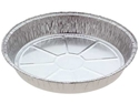 Picture of #4126 Cheesecake Large Round Foil Container - 215mm Round Base x 38mm High-FCON136650- (CTN-330)