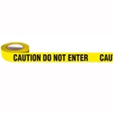 "Picture of Printed Barricade Tape - ""Caution Do Not Enter"" - 75mm x 150m-WARN833220- (EA)"