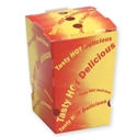 Picture of Cardboard Chipbox Small 75 x 75 x 100  -SNAK152900- (SLV-50)