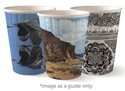 Picture of 12oz Biodegradable Double Wall Coffee Cup - Biopak Art Series (Mixed Print Selection)-BIOD076252- (CTN-1000)