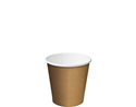 Picture of 4oz Single Wall Coffee Cups - Kraft Brown-HCUP107911- (CTN-1000)