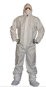 Picture of Coveralls - White Microporous type 5 & 6 - S-CLTH832105- (CTN-25)