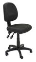 Picture of Office Chair - Medium Back Operator - Fabric -  Gas Lift, Seat Tilt & Back Tilt - SF BLACK-FURN358707- (EA)