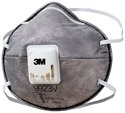 Picture of 3M 9923V P2 Particulate Respirators Valved Organic Vapour-RESP820622- (BOX-10)
