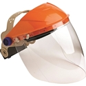 Picture of Safety Brow Guard and Visor Complete - Clear - ED -EYES825652- (EA)