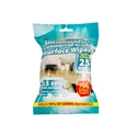 Picture of Alcohol Surface Wipes Antibacterial Kills 99% of Germs - Packets of 25-WIPE379530- (CTN-36)