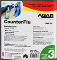 Picture of Agar Counter Flu Hospital Grade Disinfectant-20L-CHEM412780- (EA)