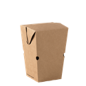 Picture of Cardboard Upright Large Chip Box Kraft Brown Board - 68mm x 68mm Base Dimensions x 135mm High-TRAY164985- (CTN-500)