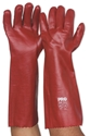 Picture of Gloves PVC -Single Dipped  -Red 45cm-GLOV475850- (CTN-72PR)