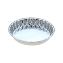 Picture of #4226 Large Fluted Quiche Foil Container  - 215mm Round Base x 38mm High-FCON135433- (CTN-360)